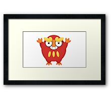 Pokemon Darumaka Framed Print