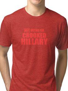 Crooked Hillary Tri-blend T-Shirt