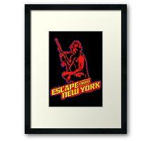 Snake Plissken (Escape from New York) Colour 2 Framed Print