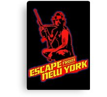 Snake Plissken (Escape from New York) Colour 2 Canvas Print
