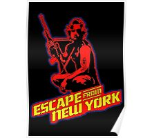 Snake Plissken (Escape from New York) Colour 2 Poster