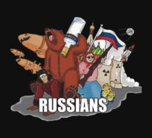 Russians by PuppaBear27