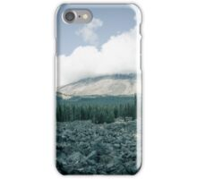 Mount Saint Helens Avalanche  iPhone Case/Skin