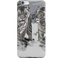 Snow Tigers Grey Justin Beck Picture 2015087 iPhone Case/Skin