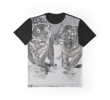 Snow Tigers Grey Justin Beck Picture 2015087 Graphic T-Shirt