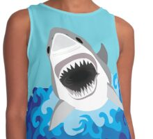 Shark Attack Contrast Tank