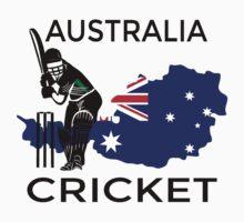 Australia Cricket One Piece - Short Sleeve