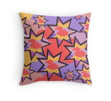 Stars in the clouds Throw Pillow