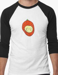 Strawberry Girl Men's Baseball ¾ T-Shirt