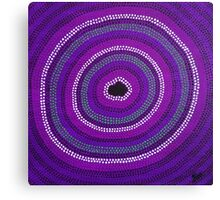 Secret Waterhole (Purple) Canvas Print