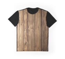 wooden planks Graphic T-Shirt