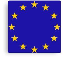 European Stars Canvas Print