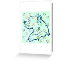 Miko Perfil Minto 1 Greeting Card
