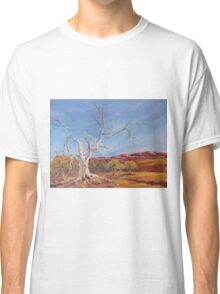Magic tree in Flinders Ranges, South Australia, Australia Classic T-Shirt