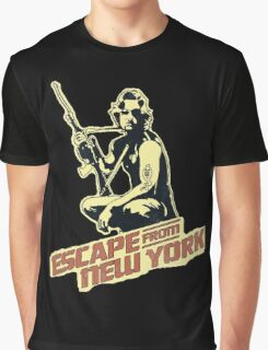 Snake Plissken (Escape from New York) Vintage Graphic T-Shirt