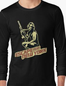 Snake Plissken (Escape from New York) Vintage Long Sleeve T-Shirt