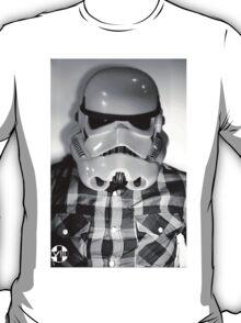 Star wars storm trooper flannel T-Shirt
