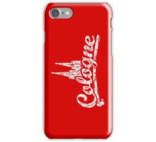 Cologne Classic Vintage Rot/Weiß iPhone Case/Skin