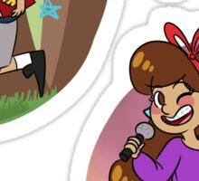 Mystery Twins Sticker Set Sticker