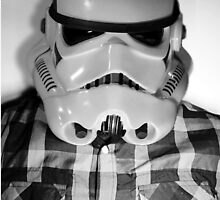 Star wars storm trooper flannel by R.L. Amaro