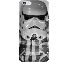 Star wars storm trooper flannel iPhone Case/Skin