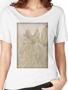 Rubber tree AKA Rubber fig (Ficus elastica)  Women's Relaxed Fit T-Shirt
