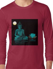 Buddha Yoga Zen Long Sleeve T-Shirt