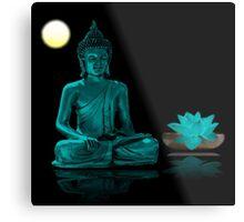 Buddha Yoga Zen Metal Print