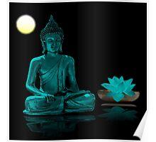 Buddha Yoga Zen Poster