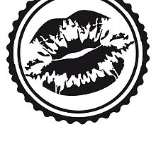 Kiss Stamp mouth impression by Style-O-Mat
