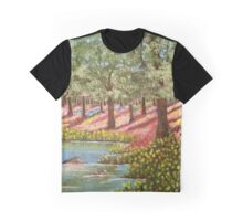 Spring Reflections Graphic T-Shirt