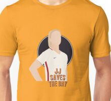 JJ SAVES THE DAY Unisex T-Shirt