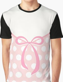 Cute bow with dots pattern Graphic T-Shirt