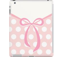 Cute bow with dots pattern iPad Case/Skin