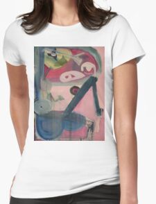 Body Parts Womens Fitted T-Shirt