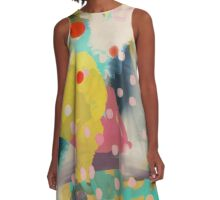 Abstract Art Chaos Contemporary Modern Art A-Line Dress