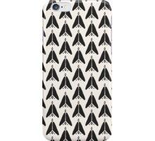 Bohemian Arrows - Dark gray and cream pattern iPhone Case/Skin