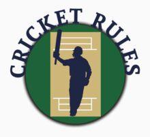 Cricket Rules Baby Tee