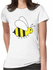 Cute Little Bumble Bee Womens Fitted T-Shirt