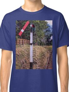 Signal on the North Norfolk Railway Classic T-Shirt
