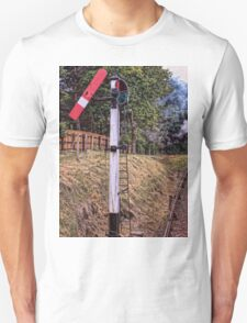 Signal on the North Norfolk Railway T-Shirt