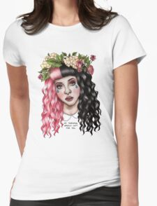 Flower Crown  Womens Fitted T-Shirt