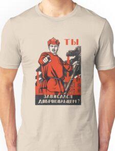 Sovie War Poster II Unisex T-Shirt