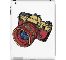 Classic 35mm SLR Camera in Fall Colors iPad Case/Skin