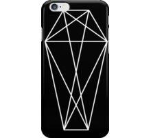 Geometric Coffin Print  iPhone Case/Skin