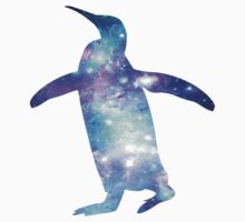 Space Penguin One Piece - Short Sleeve