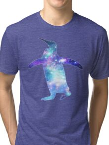 Space Penguin Tri-blend T-Shirt