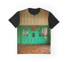 Victorian Ticket Office Graphic T-Shirt