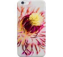 Clematis Blüte iPhone Case/Skin