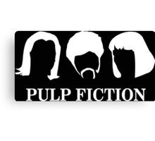 PIup Fiction Canvas Print